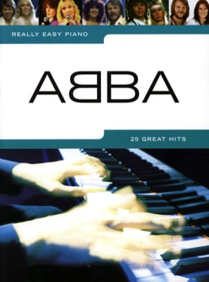 Really easy piano - ABBA ABBA Partition laflutedepan