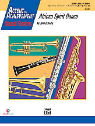 John O'Reilly - African spirit dance - Sheet Music - di-arezzo.com