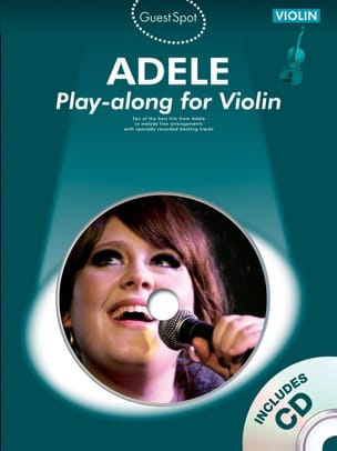 Guest Spot - Adele Play-along for violin Adele Partition laflutedepan