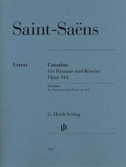 Camille Saint-Saëns - Cavatine Opus 144 - Urtext - Sheet Music - di-arezzo.co.uk