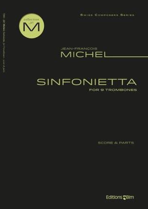 Sinfonietta - Jean-François Michel - Partition - laflutedepan.com