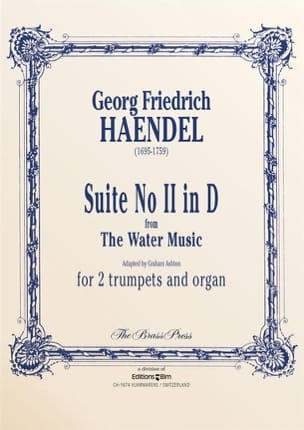 HAENDEL - Suite N° 2 in D from the Water Music - Partition - di-arezzo.fr