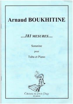 Arnaud Boukhitine - 181 Measures ... Sonatine - Sheet Music - di-arezzo.co.uk