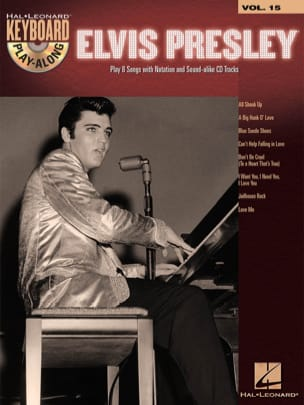 Elvis Presley - Keyboard Play-Along volume 15 - Partition - di-arezzo.fr