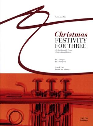 Martin Klaschka - Christmas festivity for three - Sheet Music - di-arezzo.com