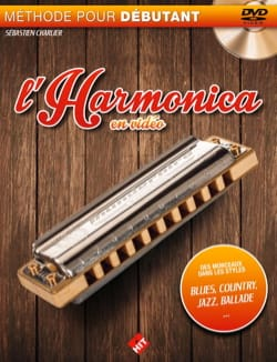 Sébastien Charlier - The harmonica in video - Sheet Music - di-arezzo.co.uk