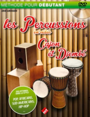 David Mirandon - The percussions on video - djembe and cajon - Sheet Music - di-arezzo.co.uk