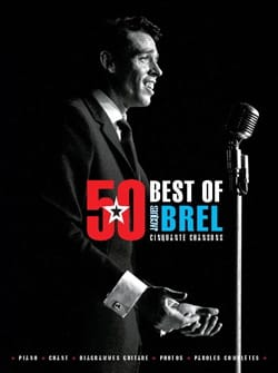50 Best Of - BREL Jacques Brel Partition laflutedepan