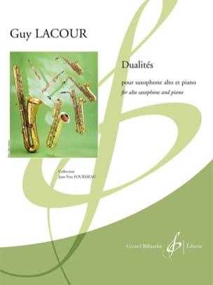 Dualités - Guy Lacour - Partition - Saxophone - laflutedepan.com