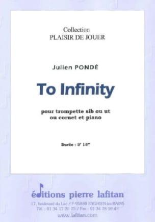 To Infinity Julien Pondé Partition Trompette - laflutedepan