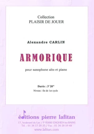 Alexandre Carlin - Armorica - Sheet Music - di-arezzo.co.uk