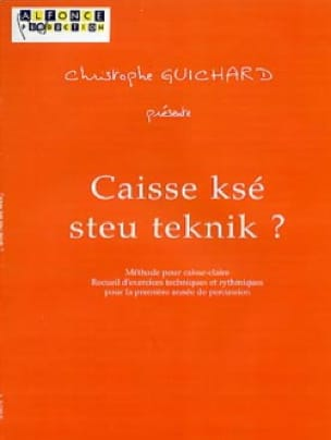 Christophe Guichard - Checkout ksé steu teknik? - Sheet Music - di-arezzo.com