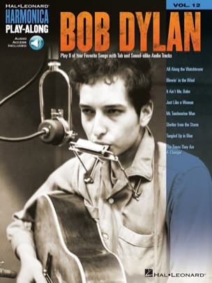 Harmonica Play-Along Volume 12 - Bob Dylan - laflutedepan.com