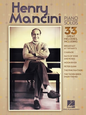 Henry Mancini - Henry Mancini Piano Solos - Partition - di-arezzo.fr