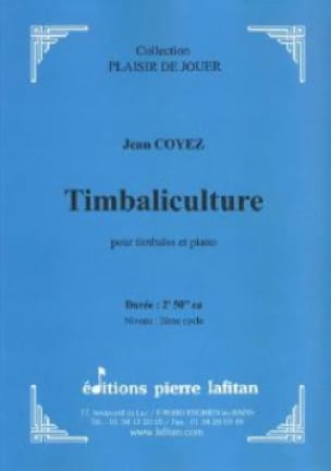 Jean Coyez - Timbaliculture - Sheet Music - di-arezzo.co.uk