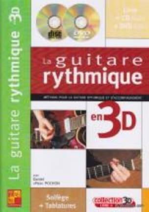 La Guitare Rythmique en 3D - Daniel Pox Pochon - laflutedepan.com