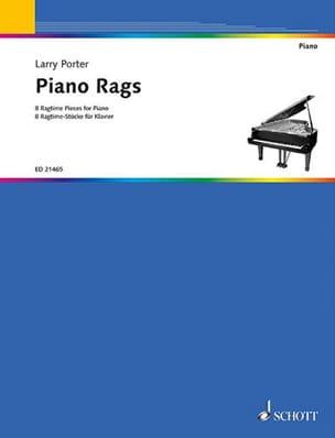 Piano rags - Larry Porter - Partition - Jazz - laflutedepan.com