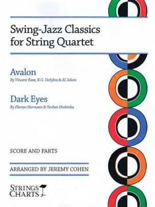 - Swing-jazz classics for string quartet - Partition - di-arezzo.fr