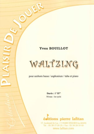 Yves Bouillot - Waltzing - Partition - di-arezzo.fr