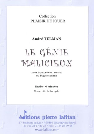 André Telman - The malicious genius - Sheet Music - di-arezzo.com