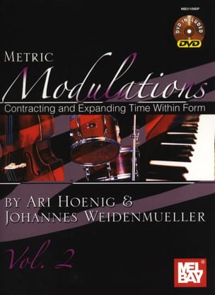 Ari Hoenig & Johannes Weidenmueller - Metric modulations volume 2 with additional content to download - Sheet Music - di-arezzo.co.uk