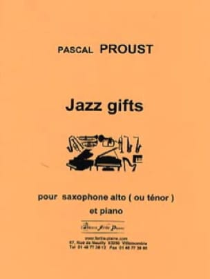 Pascal Proust - Jazz gifts - Partition - di-arezzo.fr