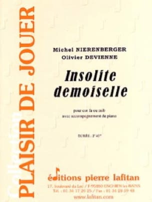 Michel Nierenberger - Insolite demoiselle - Partition - di-arezzo.fr