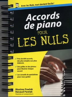 Accords de Piano pour les Nuls Partition Piano - laflutedepan
