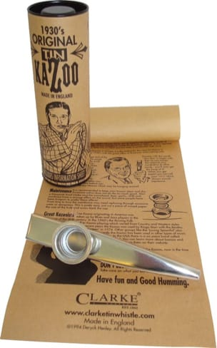 Instrument - 1930's Original tin kazoo - Accessory - di-arezzo.co.uk