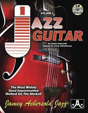 Jamey Aebersold - Volume 1 - Jazz guitar - Partition - di-arezzo.fr