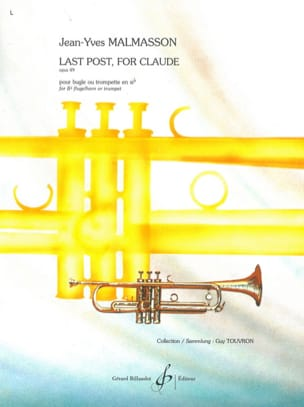 Jean-Yves Malmasson - Last post, for Claude Opus 49 - Partition - di-arezzo.fr