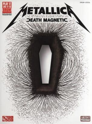 Death Magnetic - Metallica - Partition - Batterie - laflutedepan.com
