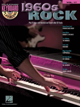 Keyboard play-along volume 17 - 1960s Rock - Partition - di-arezzo.fr
