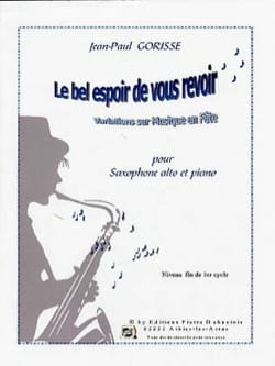 Jean-Paul Gorisse - The good hope to see you again - Sheet Music - di-arezzo.com