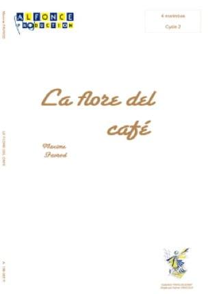 La flore del café - Maxime Favrod - Partition - laflutedepan.com