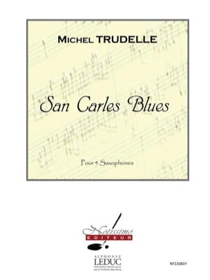 San carles blues - Michel Trudelle - Partition - laflutedepan.com