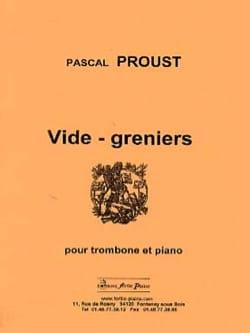 Pascal Proust - Garage sales - Sheet Music - di-arezzo.co.uk