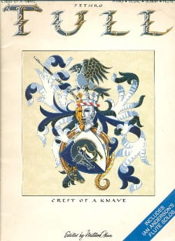 Tull Jethro - Crest of a knave - Partition - di-arezzo.fr