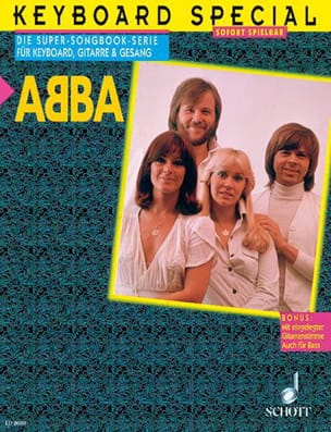 ABBA - Keyboard special - Partition - di-arezzo.fr