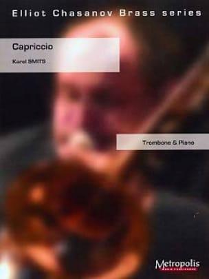 Capriccio - Karel Smits - Partition - Trombone - laflutedepan.com