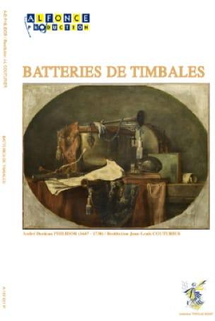 André Danican Philidor - Timpani batteries - Sheet Music - di-arezzo.co.uk