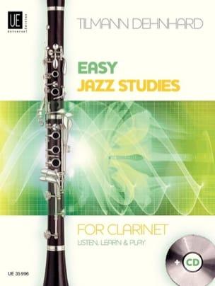 Easy jazz studies for clarinet - Tilmann Dehnhard - laflutedepan.com