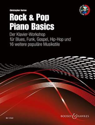 christopher Norton - Rock & pop piano basics - Partition - di-arezzo.fr