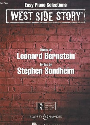 West side story - Easy piano selections BERNSTEIN laflutedepan