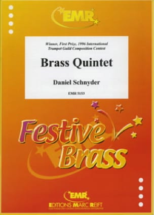 Brass quintet - Daniel Schnyder - Partition - laflutedepan.com
