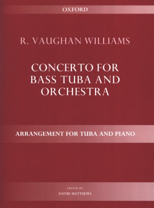 Concerto WILLIAMS VAUGHAN Partition Tuba - laflutedepan