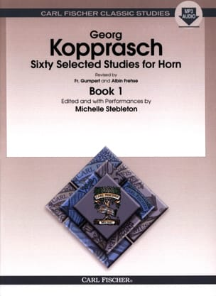 Sixty selected studies for horn book 1 Georg Kopprasch laflutedepan