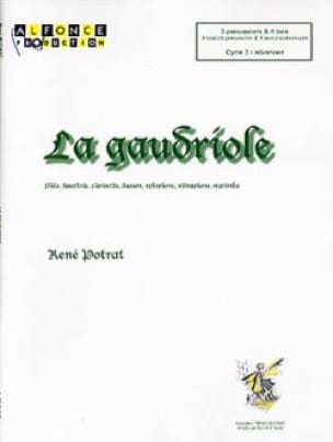 La gaudriole - René Potrat - Partition - laflutedepan.com