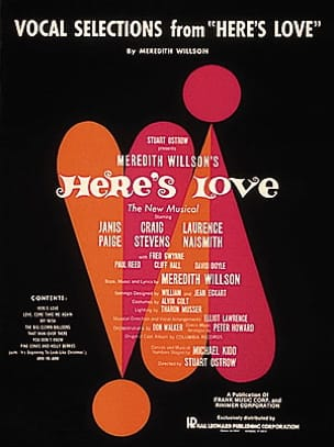 Here's love - Vocal selections - Meredith Willson - laflutedepan.com
