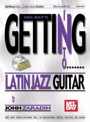 John Zaradin - Getting into latin jazz guitar - Sheet Music - di-arezzo.com